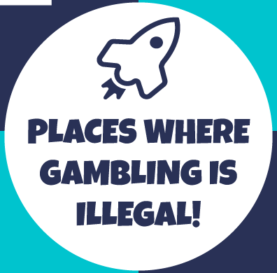 4 Places Where Gambling is Illegal